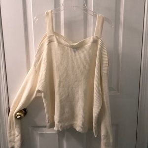 Cream Express Sweater